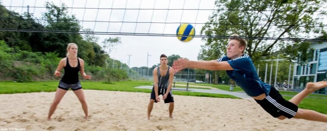 Funsport Feriencamp: Beachvolleyball
