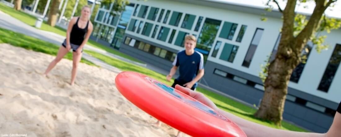 Funsport Feriencamp: Frisbeespiel