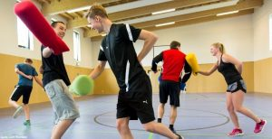 Funsport Feriencamp: Hallensport
