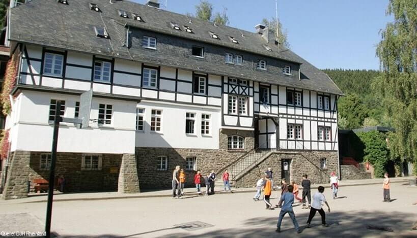 Jugendherberge Hellenthal Gebäude