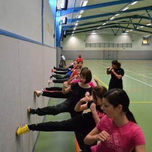 Kinder lernen Taekwondo im Move-It Sportcamp