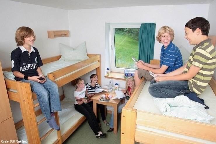 Jugendherberge Wipperfürth Mehrbettzimmer