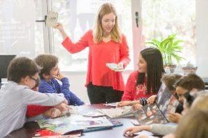 Englischunterricht im Englischcamp in Deutschland